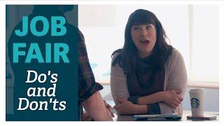 Job Fair do's & don'ts