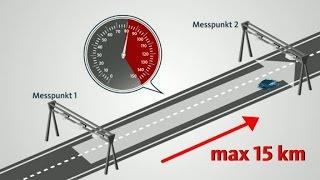 Neue Radarmessung: Section Control