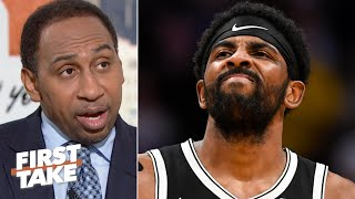 'I am not hearing good things about Kyrie Irving in Brooklyn' - Stephen A. | First Take
