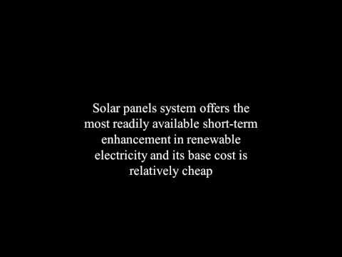The Advantages Using Solar Panel