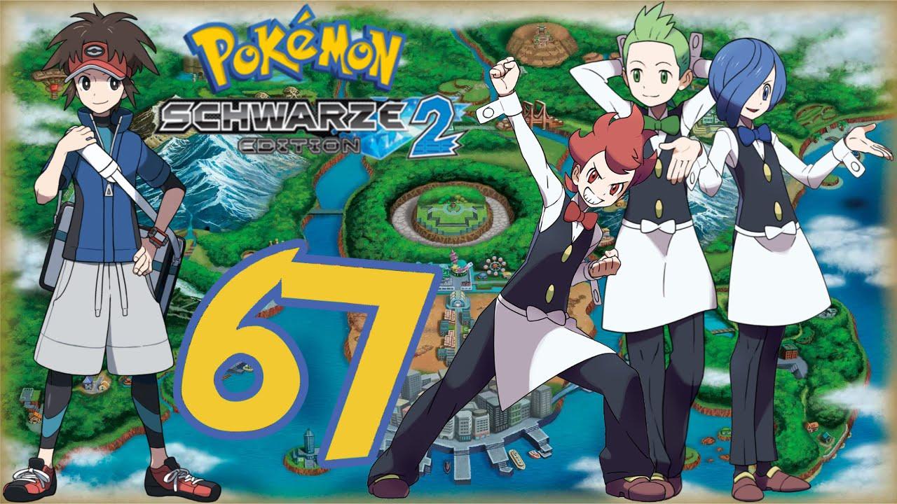 Lets Play Pokemon Schwarz 2 HurdenmodusGerman67 Das Dreiergespann