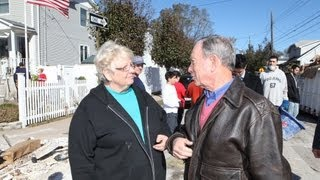 mayor bloomberg tours midland beach section of staten island