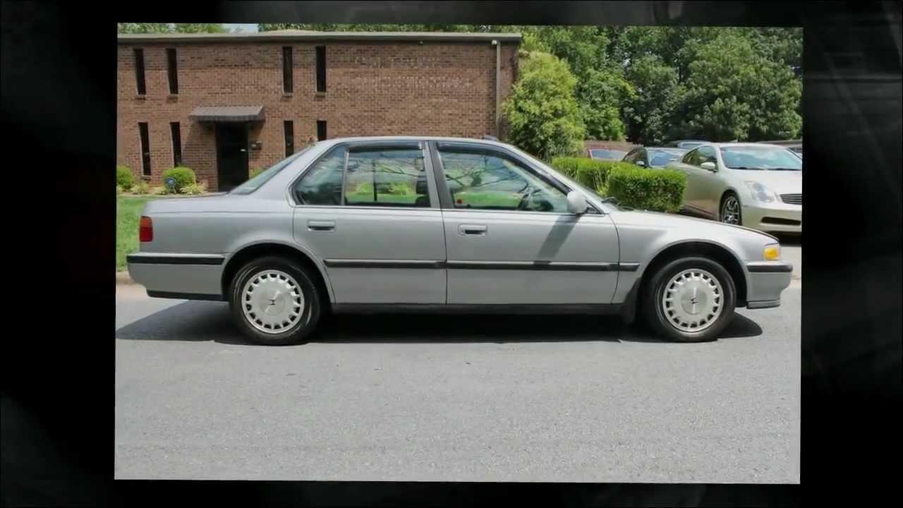Honda 91 honda accord lx : 1991 Honda Accord SE - YouTube