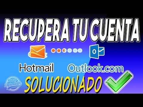 🥁📢Como Recuperar tu Cuenta de Hotmail / Outlook Hackeada SOLUCION DEFINITIVA🥁📣
