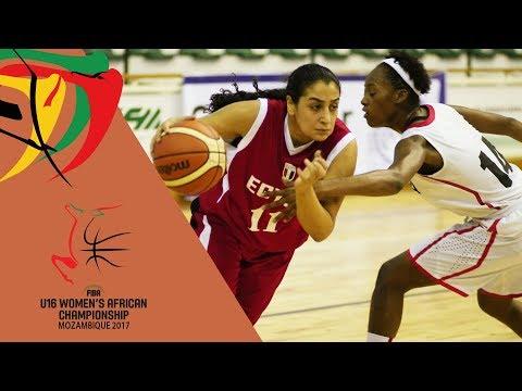 Angola v Egypt - Full Game - FIBA U16 Women's African Championship
