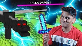 Final Boss Fight in MINECRAFT (Beast V/S Ender Dragon)