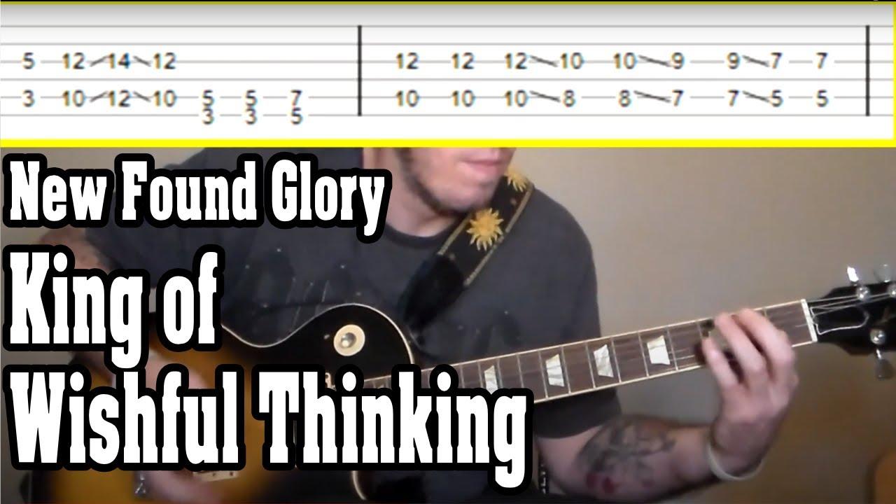 Found glory guitar new tab