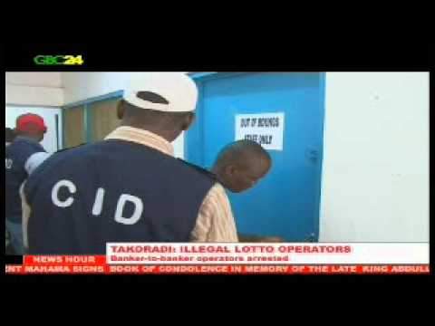 Illegal lotto operators arrested in Takoradi