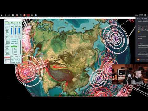 4/17/2017 -- Nightly Earthquake Update + Forecast -- Japan, USA, Pacific on watch