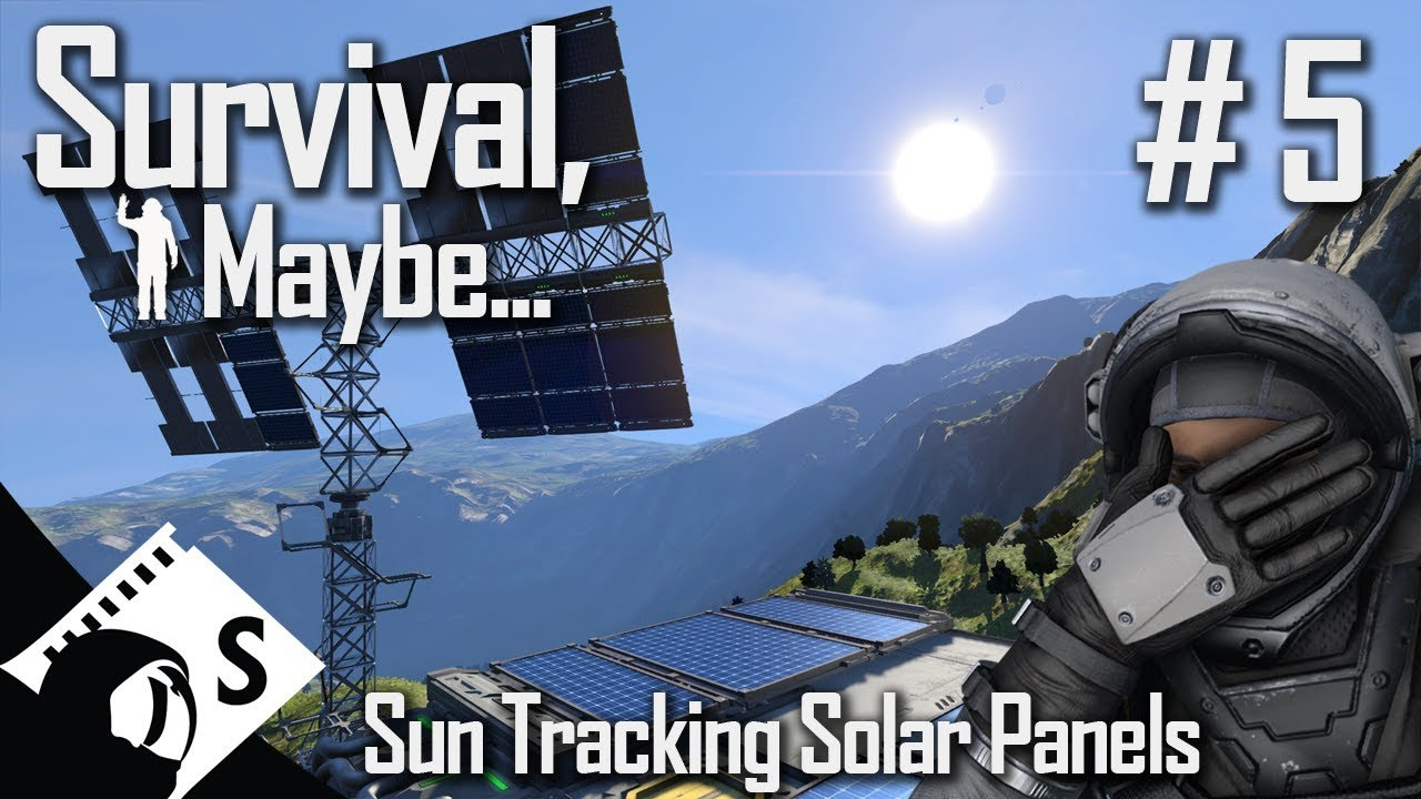 Survival Maybe 5 Finishing A Sun Tracking Solar Panel