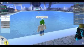 ROBLOX #4 ROBLOXIAN WATERPARK W/PRO Ninja432