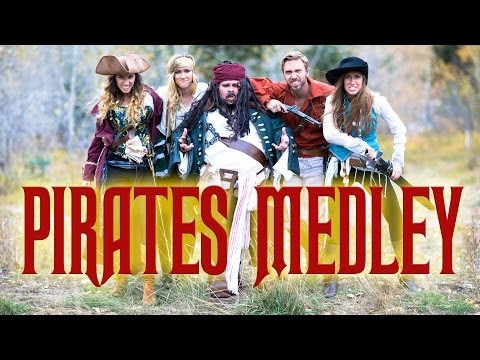 Disney's Pirates of the Caribbean Medley - Peter Hollens & Gardiner Sisters (Devinsupertramp)