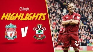 Download Video Highlights: Liverpool 3-0 Southampton | Shaqiri's stunning full debut MP3 3GP MP4