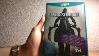 Darksiders 2 (WiiU) unboxing [German/Deutsch]
