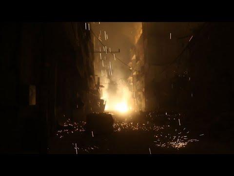 Ghouta orinetale: nuit d'enfer à Douma
