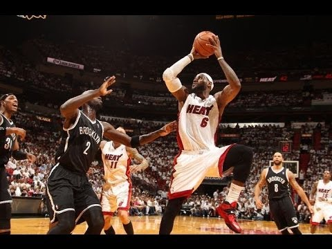 Game 5: Heat beat Nets 96-94! 2014 NBA Playoffs! Nets CHOKE in the 4th Quarter!