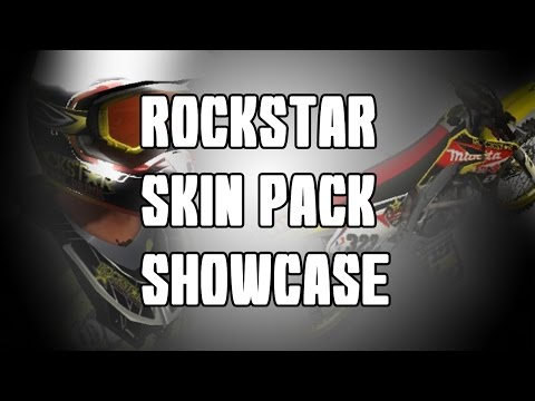 MX vs ATV REFLEX - Rockstar Skin Pack