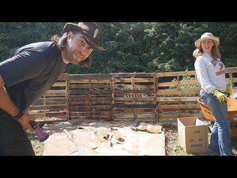 Epic 30 foot Lasagna Garden Part 3