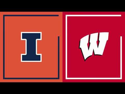 Wisconsin Badgers - Wisconsin tops Illinois 72-60 on Wednesday night