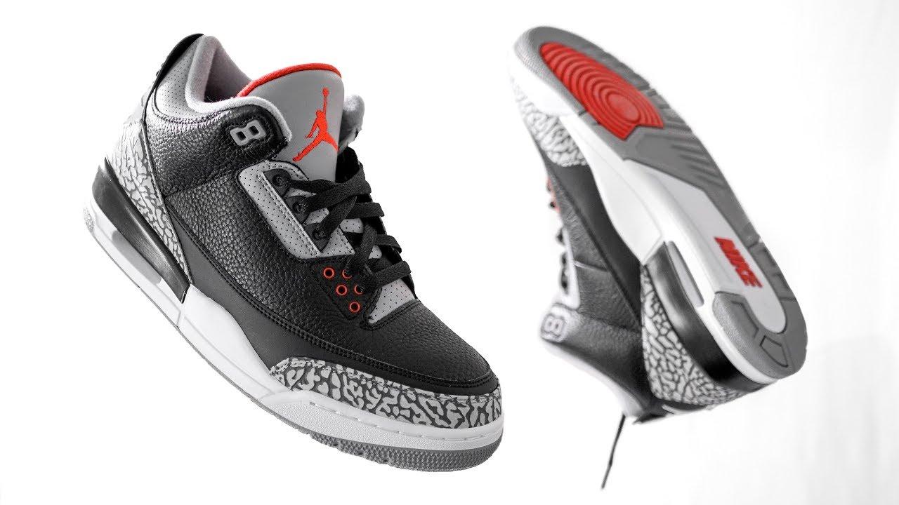 Black Cement 3s