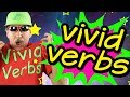 Vivid Verbs | Reading & Writing Song for Kids | Verb Song | Jack Hartmann