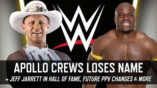 Apollo Crews Name Change, Jeff Jarrett in Hall of Fame, PPV Changes & More (Smack Talk 325 Hot Tags)