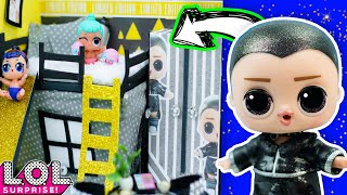 DIY Miniature Lol Surprise Boys Dollhouse   How to Make Mini Doll Room   Barbie Crafts, Bed, Pillow