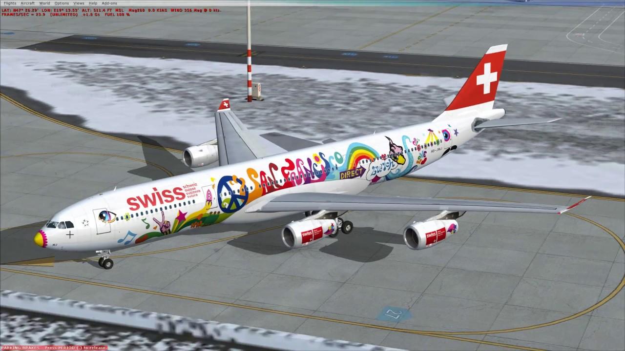 BlackBox A340-300 & 600 bemutató | FSX SE | 1080p@60fps