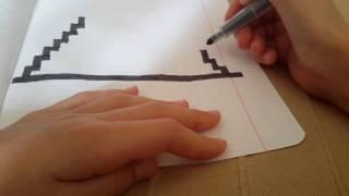 Мои рисунки по клеточкам #3 + видео -урок #3