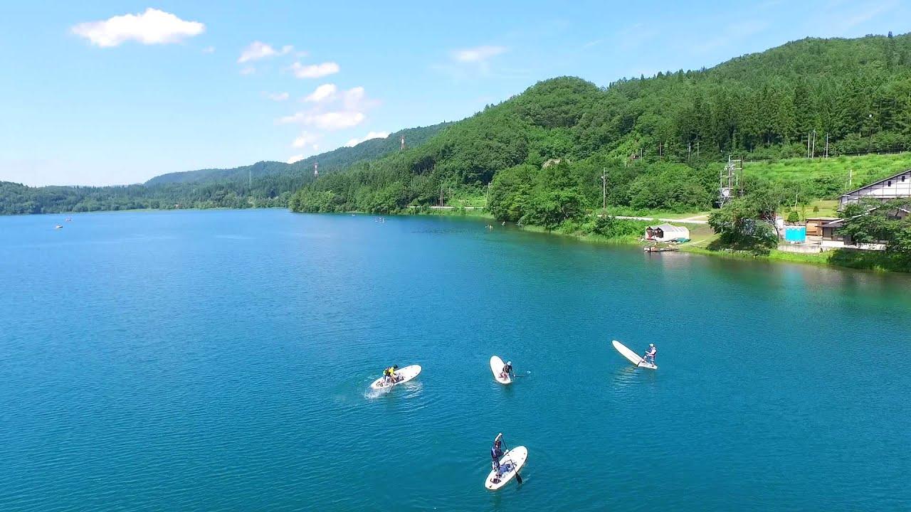 63edf75df8ab Canoeing, Kayaking, and SUP on Omachi's Lakes - Go! Nagano
