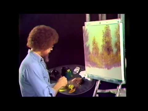 The Joy of Painting S1E01 A Walk in the Woods