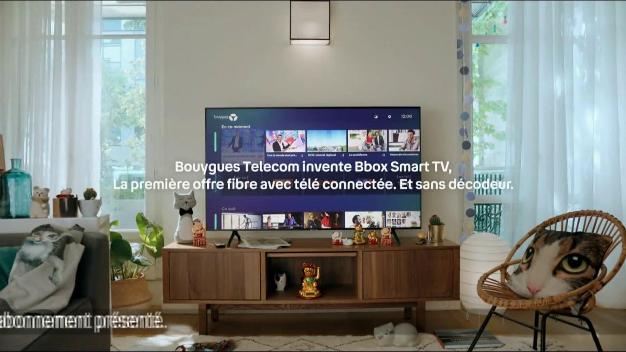 """Musique de la pub BBox Smart Tv Bouygues Telecom """"Marie collectionne les figurines de chats""""  2021"""