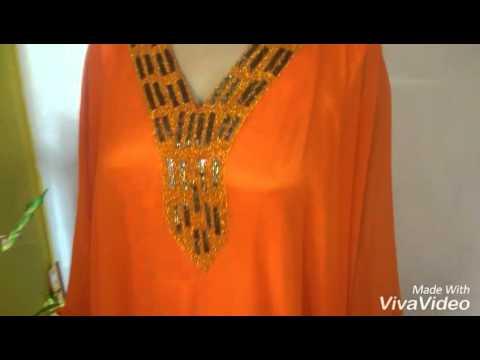 Dubai very fancy kaftan wedding dress full size