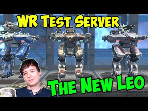 The New LEO - CRAZY War Robots Test Server Gameplay - WR