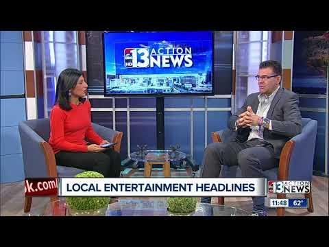 Local entertainment headlines with John Katsilometes
