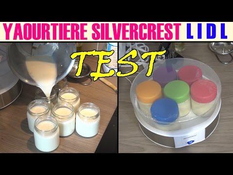 lidl yaourtière silvercrest sjb 15 test yogurt maker joghurtbereiter