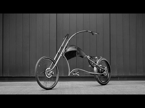 the archont electro chopper style e bike youtube. Black Bedroom Furniture Sets. Home Design Ideas