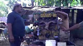 starting jeep willys engine f-head 134 hurricane.mp4