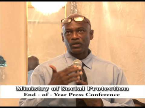 Ministry of Social Protection End of Year Press Conference - December 31, 2015