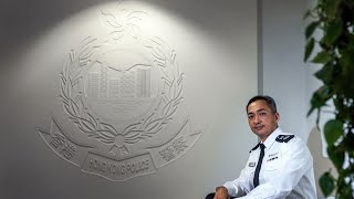 H.K. Police's Kwok Discusses Impact of National Security Law
