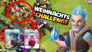 90€ Weihnachts-Gewinnspiel | Wer kann 3 Sterne mit den Eismagiern holen ? | Clash of Clans
