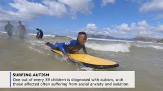 Taking to the waves: surf therapy for kids living with autism in South Africa