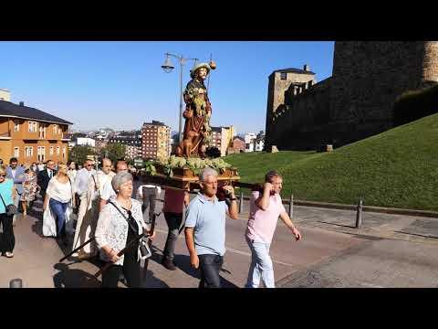Voto de Villa fiesta de San Roque en Ponferrada