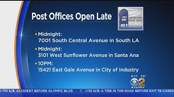 SoCal Post Offices Will Keep Late Hours For Last-Minute Tax Filers