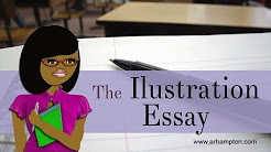 illustration essay meaning