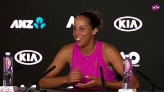 Madison Keys Press Conference   2019 Australian Open First Round