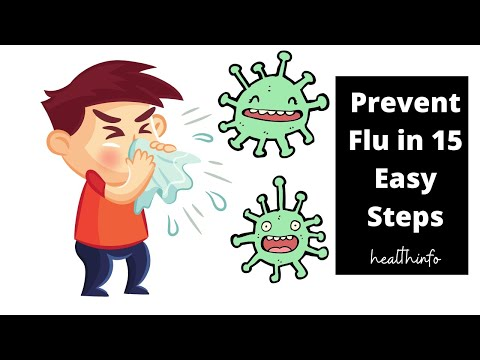 Prevent Flu in 15 Easy Steps