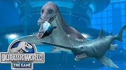 Jurassic World: Das Spiel #6 - Die ersten WASSERDINOS & der ALLOSAURUS im EINSATZ! | LP JW Deutsch