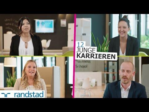 12 junge Karrieren - der Einstieg bei Randstad