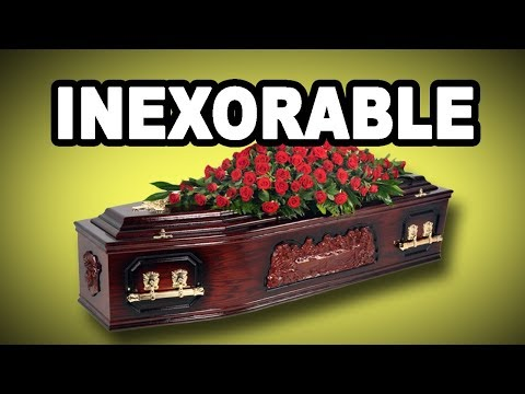 Learn English Words: INEXORABLE - Meaning, Vocabulary with Pictures and Examples
